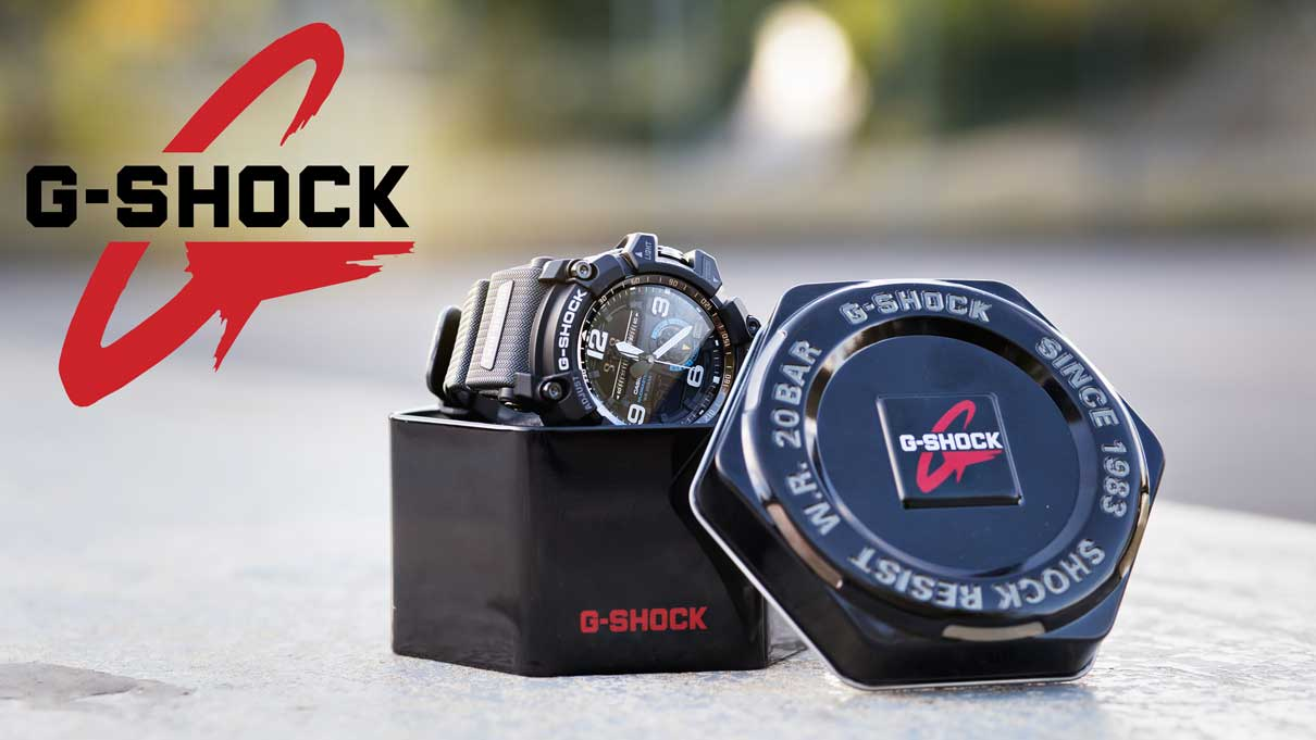 Casio-G-Shock Uhren